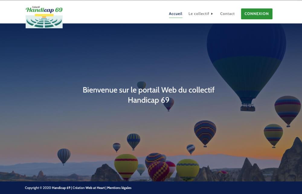 accueil H69 W@h 1 - Web at Heart, agence digitale à Lyon