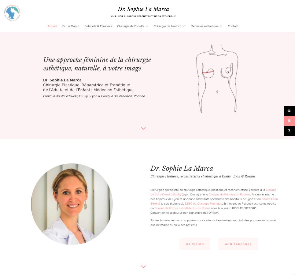 dr lamarca - Web at Heart, agence digitale à Lyon