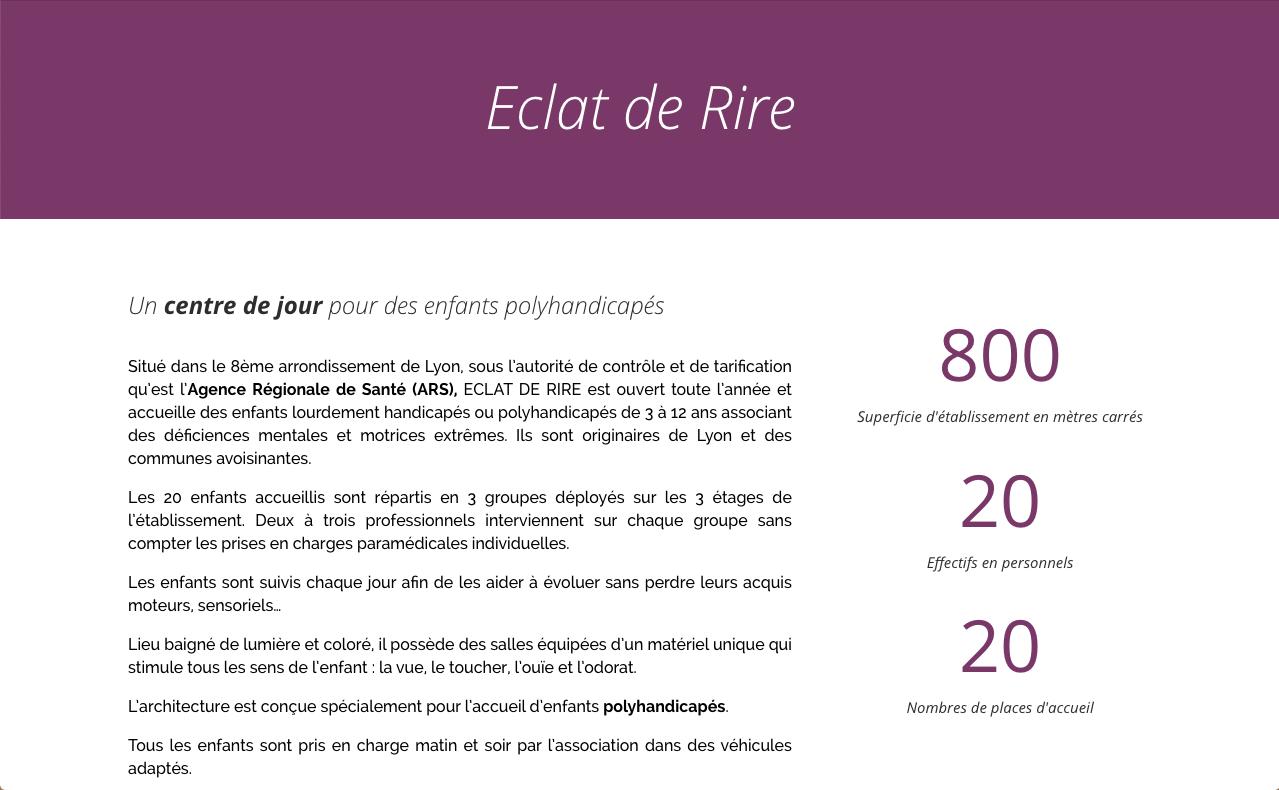 eclat de rire - Web at Heart, agence digitale à Lyon