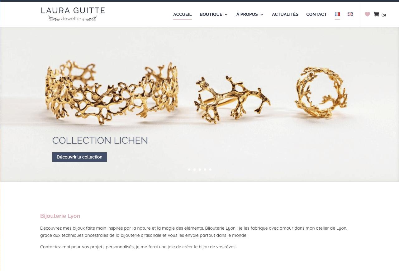 laura guitte accueil - Web at Heart, agence digitale à Lyon