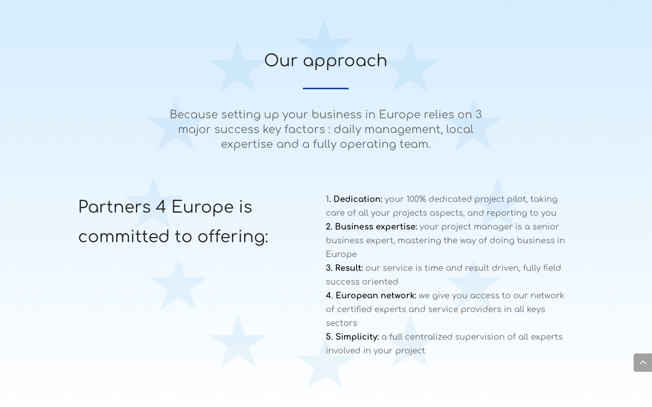partners4europe webdesign w@h - Web at Heart, agence digitale à Lyon