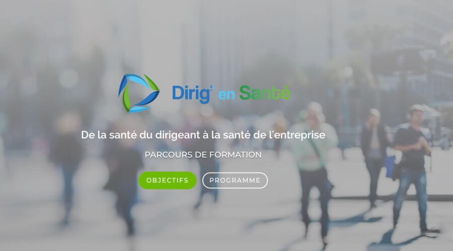 design de dirig'en santé - programme d'Orméa Conseil par Web at Heart