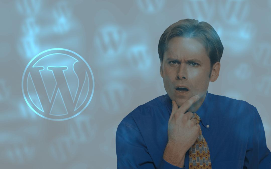 WordPress n'est pas ce que vous croyez